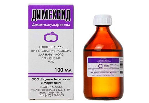 Як використовувати Димексид в лікуванні шпори на п'яті: рецепти та поради