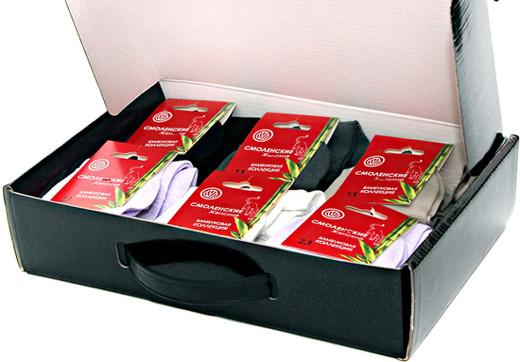 Кейс бамбукових шкарпеток: річний запас якісної білизни