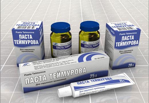 Теймурова мазь від пітливості і запаху ніг: особливості застосування та ефективність