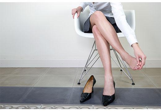 Яке потрібне взуття при вальгусной установці стоп: правила вибору і носіння