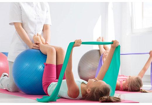 ЛФК і гімнастика при плосковальгусной деформації стопи у дітей