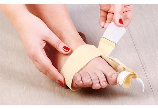 Види фіксаторів для пальців ніг і інструкція до застосування